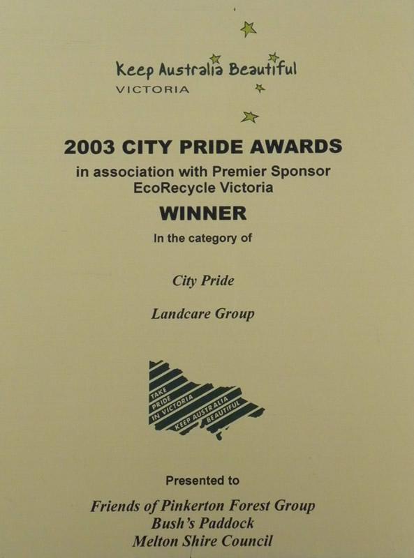 2003 City Pride Awards